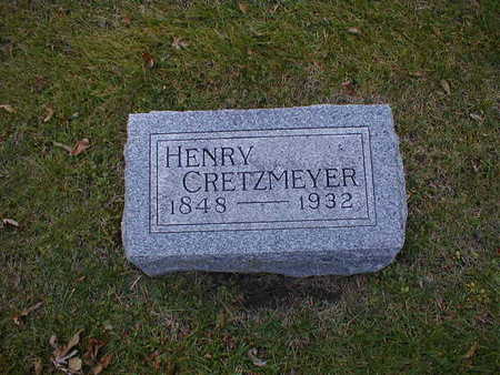 CRETZMEYER, HENRY - Bremer County, Iowa | HENRY CRETZMEYER