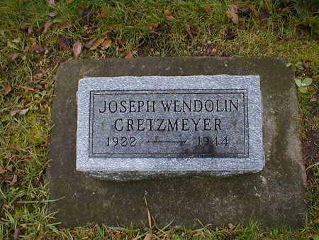 CRETZMEYER, JOSEPH WENDOLIN - Bremer County, Iowa | JOSEPH WENDOLIN CRETZMEYER