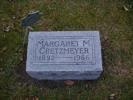 CRETZMEYER, MARGARET M - Bremer County, Iowa | MARGARET M CRETZMEYER
