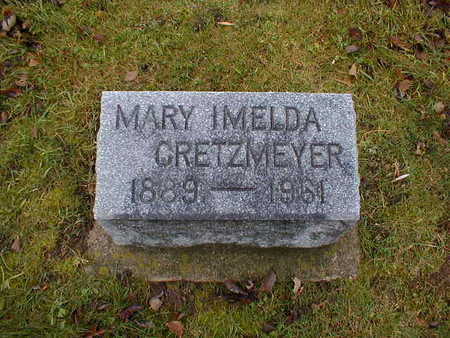 CRETZMEYER, MARY IMELDA - Bremer County, Iowa | MARY IMELDA CRETZMEYER