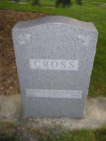 CROSS, LAVERNE C - Bremer County, Iowa | LAVERNE C CROSS