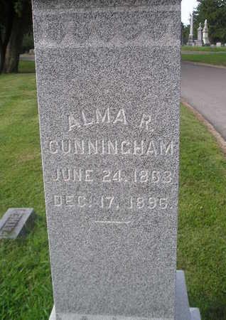 CUNNINGHAM, ALMA - Bremer County, Iowa | ALMA CUNNINGHAM