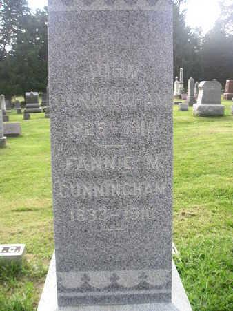 CUNNINGHAM, FANNIE - Bremer County, Iowa | FANNIE CUNNINGHAM