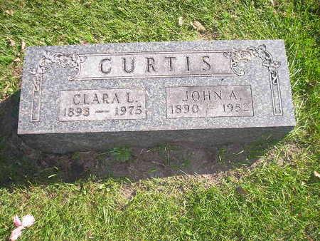 CURTIS, CLARA L - Bremer County, Iowa | CLARA L CURTIS