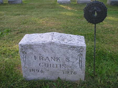 CURTIS, FRANK S - Bremer County, Iowa   FRANK S CURTIS