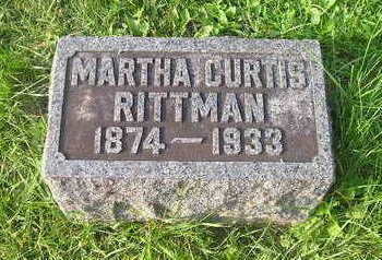 CURTIS, MARTHA - Bremer County, Iowa | MARTHA CURTIS