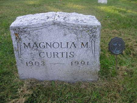 CURTIS, MAGNOLIA M - Bremer County, Iowa | MAGNOLIA M CURTIS