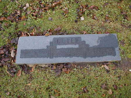 CUTER, ANNA J - Bremer County, Iowa | ANNA J CUTER