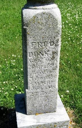 DAHNKE, FRIEDRICH - Bremer County, Iowa | FRIEDRICH DAHNKE
