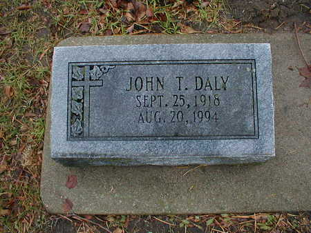 DALY, JOHN T - Bremer County, Iowa | JOHN T DALY