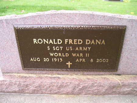 DANA, RONALD FRED - Bremer County, Iowa | RONALD FRED DANA
