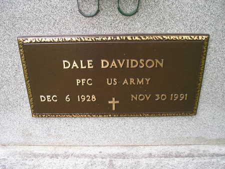 DAVIDSON, DALE - Bremer County, Iowa   DALE DAVIDSON