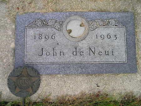 DE NEUI, JOHN - Bremer County, Iowa | JOHN DE NEUI