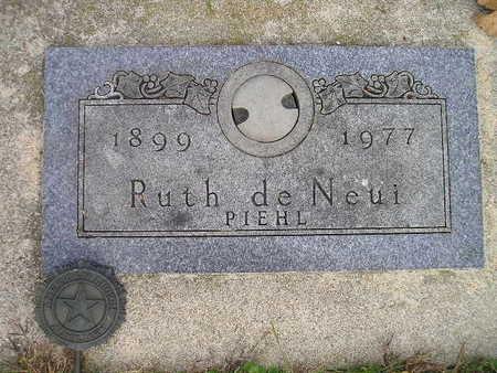 DE NEUI, RUTH - Bremer County, Iowa   RUTH DE NEUI