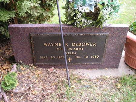 DEBOWER, WAYNE K - Bremer County, Iowa | WAYNE K DEBOWER