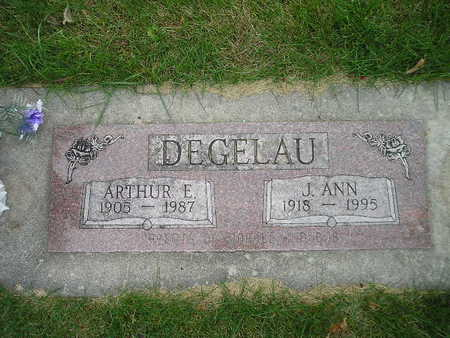 DEGELAU, ARTHUR E - Bremer County, Iowa | ARTHUR E DEGELAU
