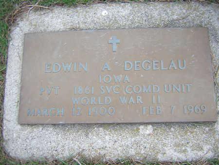 DEGELAU, EDWIN - Bremer County, Iowa | EDWIN DEGELAU