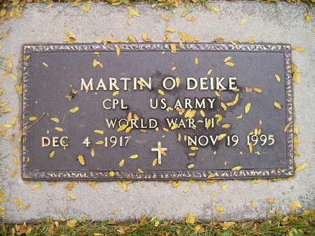 DEIKE, MARTIN O - Bremer County, Iowa   MARTIN O DEIKE