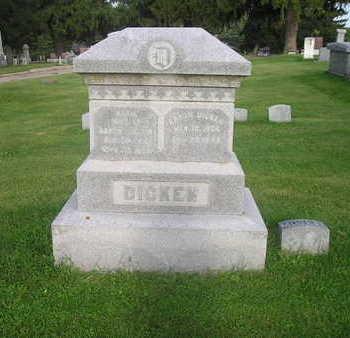DICKEN, AARON - Bremer County, Iowa | AARON DICKEN