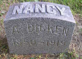 DICKEN, NANCY A - Bremer County, Iowa | NANCY A DICKEN