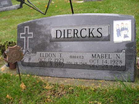 DIERCKS, MABEL N - Bremer County, Iowa | MABEL N DIERCKS