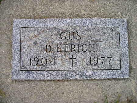 DIETRICH, GUS - Bremer County, Iowa   GUS DIETRICH
