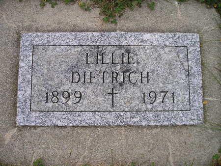 DIETRICH, LILLIE - Bremer County, Iowa | LILLIE DIETRICH