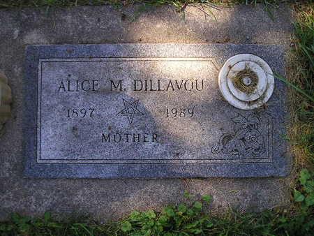 DILLAVOU, ALICE M - Bremer County, Iowa | ALICE M DILLAVOU