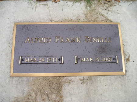 DINELLI, ALPHIO FRANK - Bremer County, Iowa   ALPHIO FRANK DINELLI