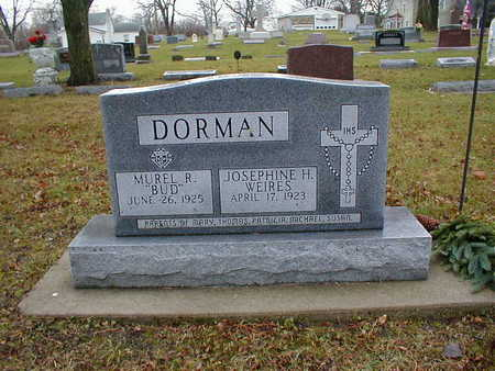 DORMAN, JOSEPHINE H - Bremer County, Iowa | JOSEPHINE H DORMAN