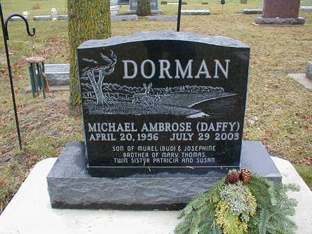DORMAN, MICHAEL AMBROSE