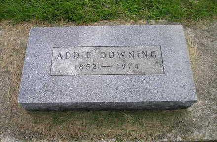 DOWNING, ADDIE - Bremer County, Iowa | ADDIE DOWNING