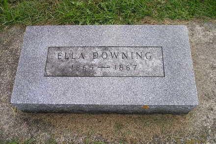 DOWNING, ELLA - Bremer County, Iowa | ELLA DOWNING