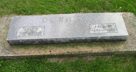 DOWNING, LOU V. - Bremer County, Iowa   LOU V. DOWNING