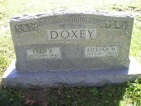 DOXEY, LILLIAN M - Bremer County, Iowa | LILLIAN M DOXEY