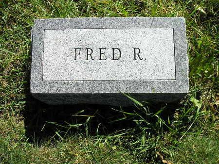DOXEY, FRED R - Bremer County, Iowa   FRED R DOXEY
