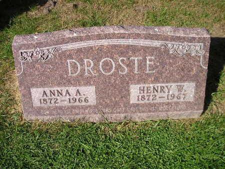 DROSTE, HENRY W - Bremer County, Iowa | HENRY W DROSTE