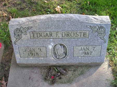 DROSTE, EDGAR F - Bremer County, Iowa | EDGAR F DROSTE