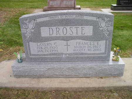 DROSTE, FRANCES E - Bremer County, Iowa | FRANCES E DROSTE