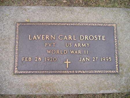 DROSTE, LAVERN CARL - Bremer County, Iowa | LAVERN CARL DROSTE