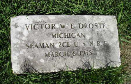 DROSTE, VICTOR W E - Bremer County, Iowa | VICTOR W E DROSTE