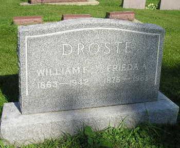 DROSTE, WILLIAM F - Bremer County, Iowa | WILLIAM F DROSTE