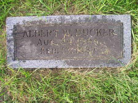 DUCKER, ALBERT W - Bremer County, Iowa | ALBERT W DUCKER