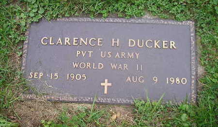 DUCKER, CLARENCE H - Bremer County, Iowa | CLARENCE H DUCKER
