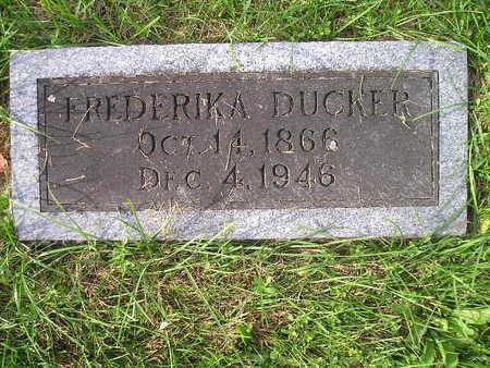 DUCKER, FREDERIKA - Bremer County, Iowa | FREDERIKA DUCKER