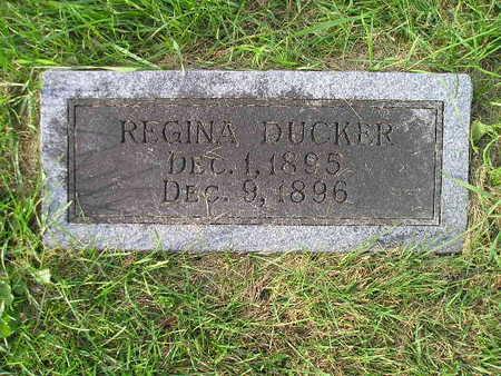 DUCKER, REGINA - Bremer County, Iowa | REGINA DUCKER
