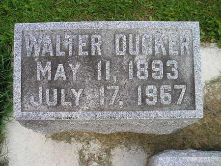 DUCKER, WALTER - Bremer County, Iowa | WALTER DUCKER