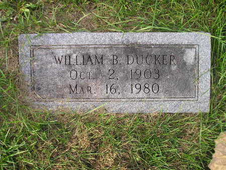 DUCKER, WILLIAM B - Bremer County, Iowa | WILLIAM B DUCKER
