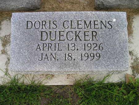 CLEMENS DUECKER, DORIS - Bremer County, Iowa | DORIS CLEMENS DUECKER