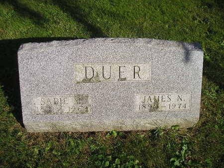DUER, SADIE M - Bremer County, Iowa | SADIE M DUER